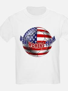 US Womens Soccer T-Shirt