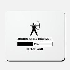 Archery Skills Loading Mousepad