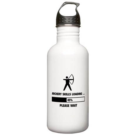Archery Skills Loading Stainless Water Bottle 1.0L