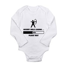 Archery Skills Loading Long Sleeve Infant Bodysuit