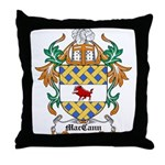 MacCann Coat of Arms Throw Pillow