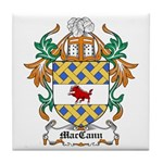 MacCann Coat of Arms Tile Coaster
