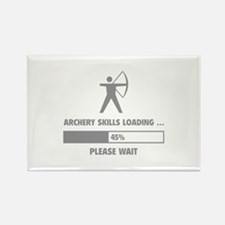 Archery Skills Loading Rectangle Magnet (10 pack)