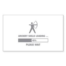 Archery Skills Loading Decal