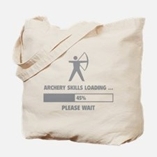 Archery Skills Loading Tote Bag