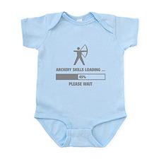 Archery Skills Loading Infant Bodysuit