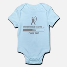 Archery Skills Loading Infant Bodysuit