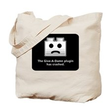Give-A-Damn Plugin Crash Tote Bag