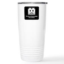 Give-A-Damn Plugin Crash Travel Mug