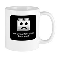 Give-A-Damn Plugin Crash Small Mug