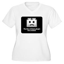 Give-A-Damn Plugin Crash T-Shirt