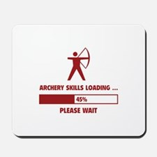 Archery Skills Loading Mousepad