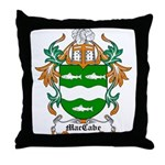 MacCabe Coat of Arms Throw Pillow