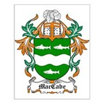 MacCabe Coat of Arms Small Poster