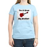 Great Big Brother (guitar) Women's Pink T-Shirt