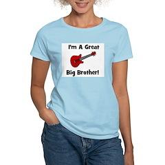 Great Big Brother (guitar) Women's Pink T-Shirt