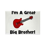 Great Big Brother (guitar) Rectangle Magnet