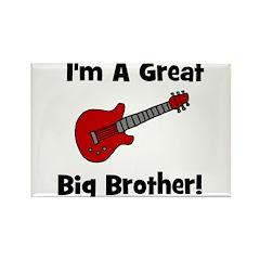 Great Big Brother (guitar) Rectangle Magnet