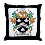 MacBreheny Coat of Arms Throw Pillow