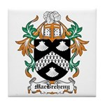 MacBreheny Coat of Arms Tile Coaster