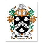 MacBreheny Coat of Arms Small Poster