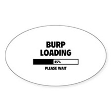 Burp Loading Decal