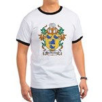 MacAusland Coat of Arms Ringer T
