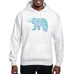 Celtic Polar Bear Hooded Sweatshirt