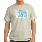 Celtic Polar Bear Light T-Shirt