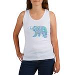 Celtic Polar Bear Women's Tank Top