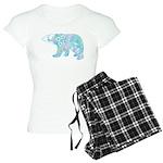 Celtic Polar Bear Women's Light Pajamas