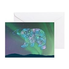 Celtic Polar Bear Greeting Cards (Pk of 20)