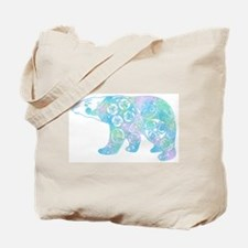 Celtic Polar Bear Tote Bag
