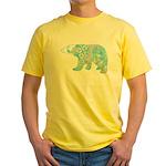Celtic Polar Bear Yellow T-Shirt