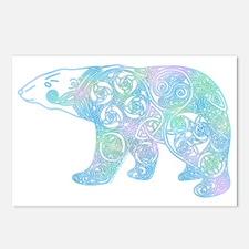 Celtic Polar Bear Postcards (Package of 8)