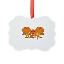Halloween Pumpkin Darryl Ornament