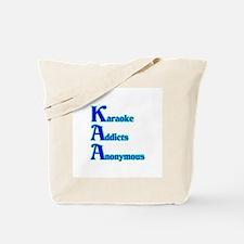 Karaoke Addicts Anonymous Tote Bag