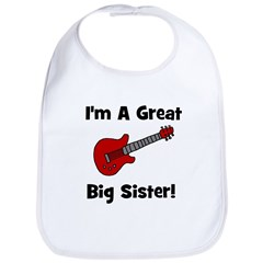 Great Big Sister (guitar) Bib
