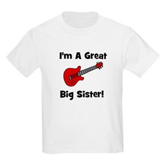Great Big Sister (guitar) Kids T-Shirt