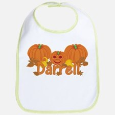 Halloween Pumpkin Darrell Bib