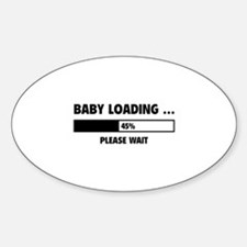 Baby Loading Sticker (Oval)