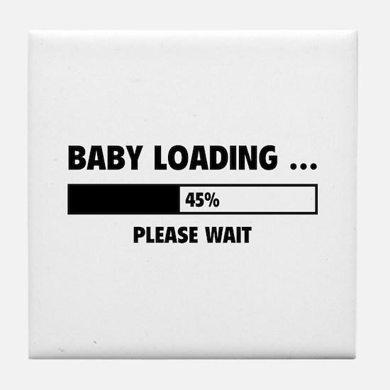 Baby Loading Tile Coaster