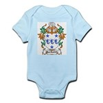 MacAuliffe Coat of Arms Infant Creeper