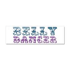 Belly Dancer Car Magnet 10 x 3