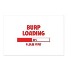 Burp Loading Postcards (Package of 8)