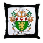MacArtan Coat of Arms Throw Pillow