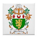 MacArtan Coat of Arms Tile Coaster