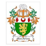 MacArtan Coat of Arms Small Poster