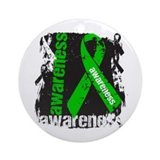 Kidney Disease Awareness Ornament (Round)