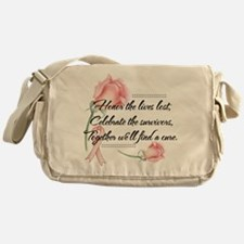 Honor the lives lost.png Messenger Bag